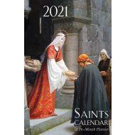 2021 Saints Spiral Planner Calendar