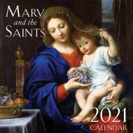 2021 Mary and the Saints Wall Calendar