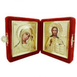 Golden Diptych of the Virgin and Christ