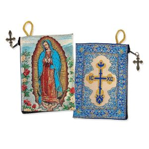 Our Lady of Guadalupe Icon Rosary Pouch