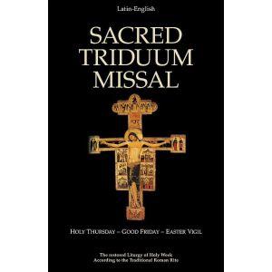 Sacred Triduum Latin Mass Missal