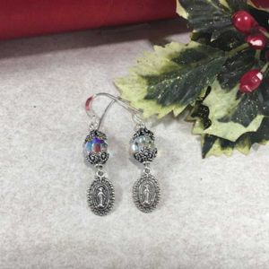 Miraculous Round Swarovski Earrings