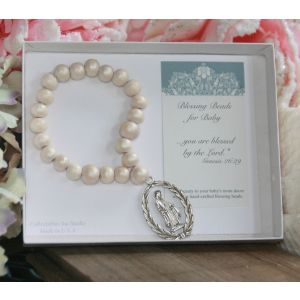 Miraculous White Blessing Beads