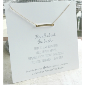 It's All About the Dash Necklace (Gold)