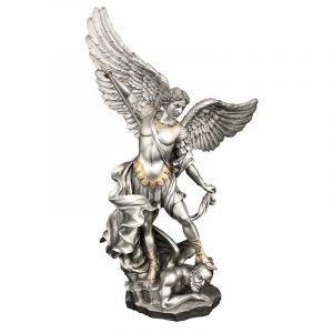 "St. Michael 14"" Pewter"