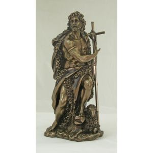 Bronze St. John the Baptist 10""