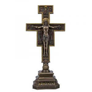 San Damiano Standing Crucifix 14''