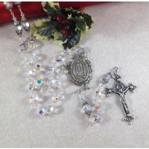 10mm Swarovski Crystal Guadalupe Rosary