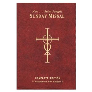 St Joseph Sunday Missal- Red Vinyl