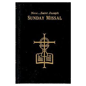 St. Joseph's Sunday Missal- Black Hardcover