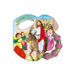 Easter Joy Rattle Book