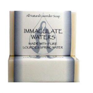 823 Lourdes Water Bar Soap- Lavender