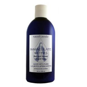 825 Lourdes Water Liquid Soap- Lavender
