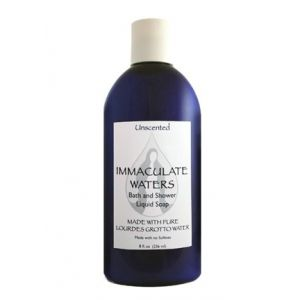 Lourdes Water Liquid Soap-Unscented