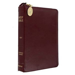 Ignatius Compact Bible Zipper