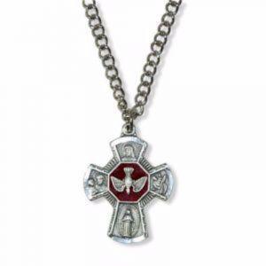 """MS18 Holy Spirit 4-Way Medal 24"""""""