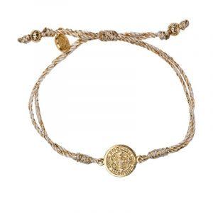 ACM108 Serenity Blessing Bracelet (Gold)