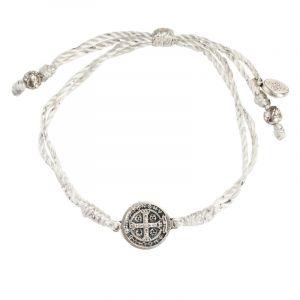 ACM107 Serenity Blessing Bracelet (Silver)