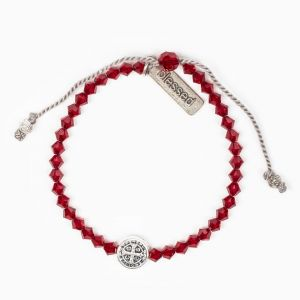 Birthday Blessing Bracelet - January