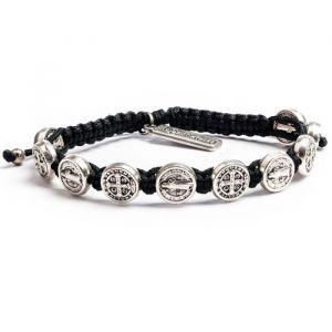 ACM102 St Benedict Blessings Men's Bracelet