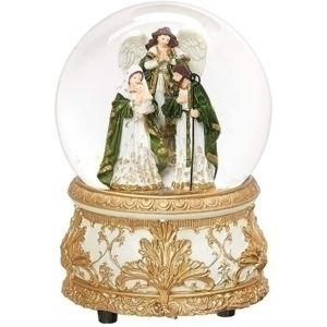 Musical Holy Family Globe