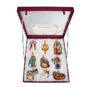 Nativity Collection Ornament Set