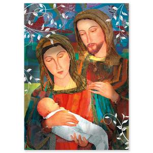 Holy Family Splendor of Christmas Card