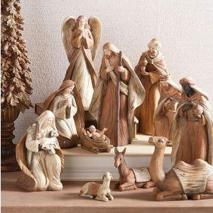 11 Piece Nativity Set