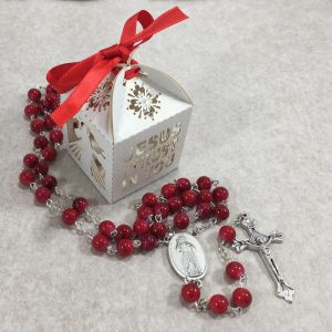 ACM137 Divine Mercy Rosary in Box
