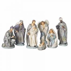 """12""""Nativity7PcVersaille"""
