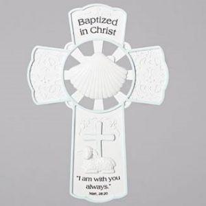 Boys Baptism Cross