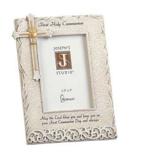 Communion Frame White Gold