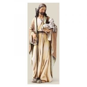 Jesus the Good Shepherd Statue 6""