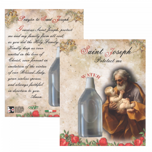806 Saint Joseph Holy Water - not blessed