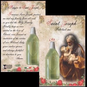 St Joseph Oil with Prayer