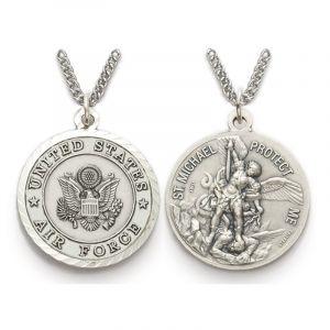 ACM211 Air Force/St.Michael Medal Necklace