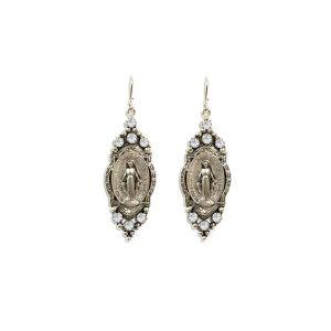 Miraculous Crystal Earrings
