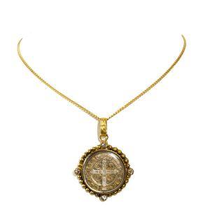 Petite St Benedict Necklace
