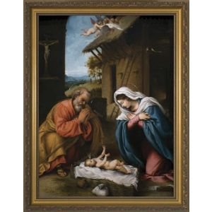 Lotto Nativity 12x16