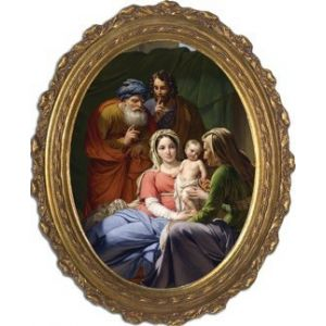 Holy Family Oval 12 x 16
