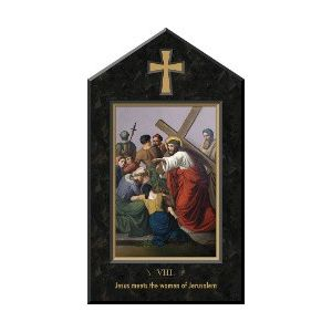 Stations of Cross Icon Plaques (Set of14) 10x17