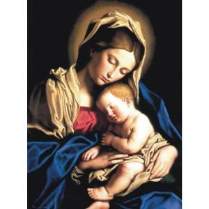 ACM185 Madonna and Child Christmas Cards