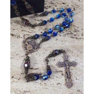 Capri Swarovski Lourdes Rosary