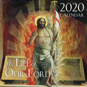 2020 Life of Our Lord Catholic Wall Calendar