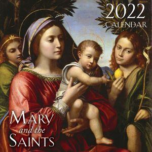 832 2022 Mary and the Saints Wall Calendar