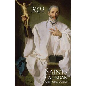 2022 Saints Calendar & 16-month Planner