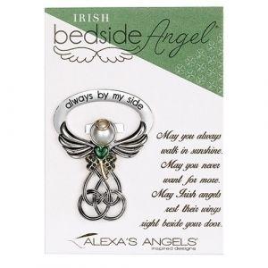 Irish Angel Bedside Cross