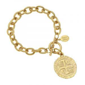 Ancient Cross Link Bracelet