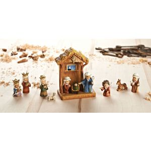 ACM144 Child Nativity with Stable