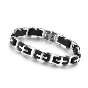 Men's Cross Stainless Steel Bracelet